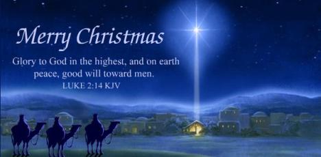 Christmas Holy Night Star of Bethlehem - Jesus Christ is born