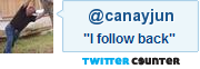follow canayjun on Twitter - I follow back